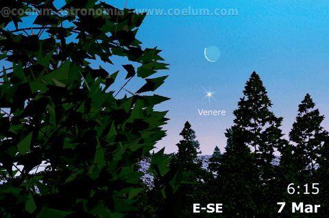 7 marzo 2016. Un'occasione per mettere alla prova la vostra vista (sperando in un tempo clemente): la prossima settimana inizia con una congiunzione Luna Venere di primo mattino! http://www.coelum.com/?p=57530 Tutti gli eventi di marzo li trovi qui > http://goo.gl/xkH7rj