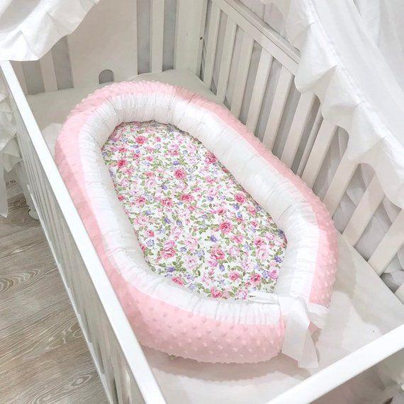 Pink Floral Baby Nest Sleep Nest Baby Nest Co Sleeper Baby