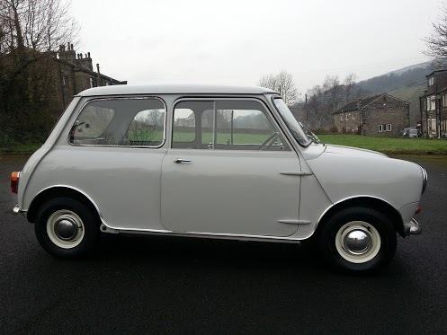 1960 Mk1 Austin Mini 7, 850cc