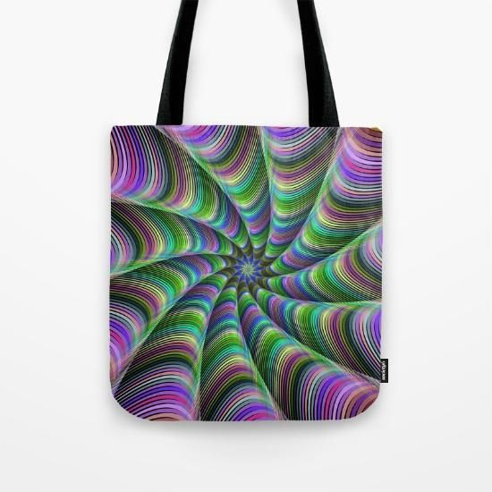 Tote Bag - Kaleidoscope by VIDA VIDA ZeLCo
