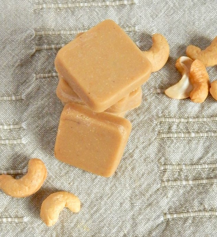 This Maple Cashew Freezer Fudge is a healthy way to satisfy your sweet tooth and also add some super healthy coconut oil into your diet!