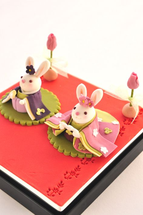 japanese sweets - traditional dolls