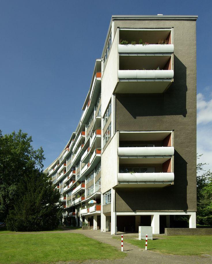 Walter Gropius, Wils Ebert, Interbau-Wohnhaus, Hansaviertel, 1957