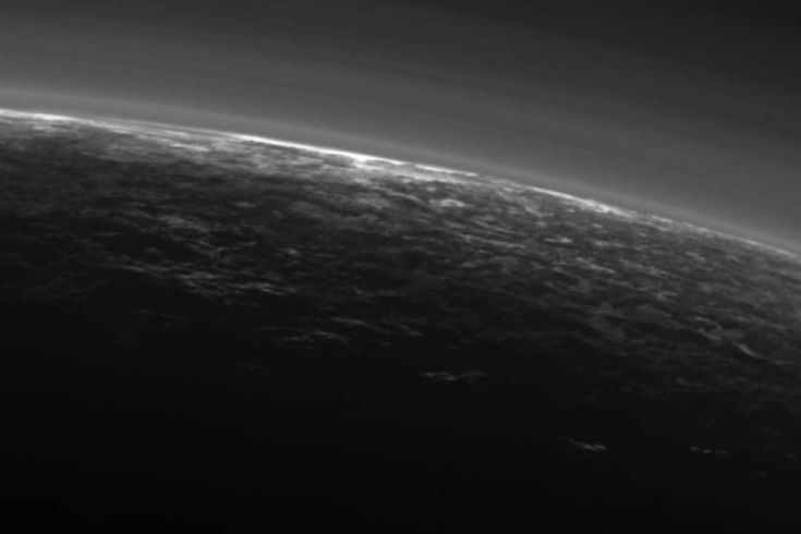 We knew the dwarf planet had weather systems, but here's the first evidence from the New Horizons probe of clouds in Pluto's atmosphere