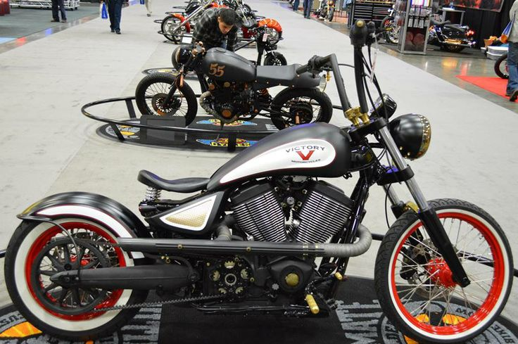 Really liking the clean look on this Victory Motorcycles bobber