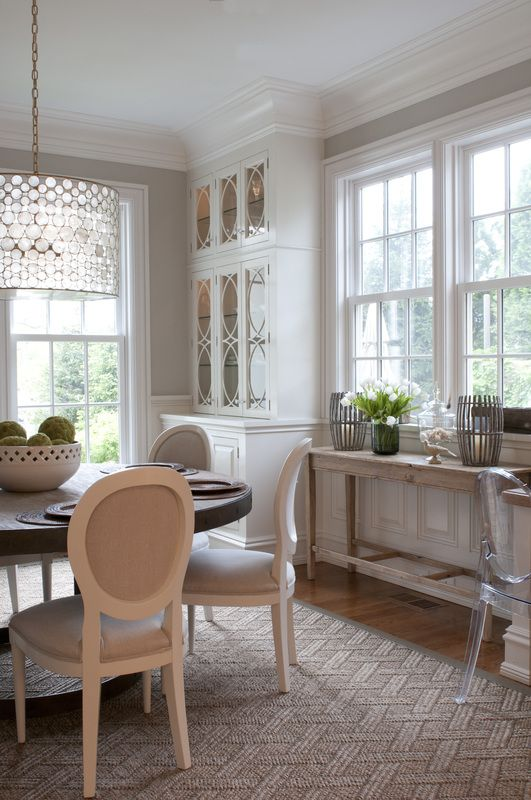 Nightingale Design. Love the dining tables!