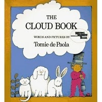 The Cloud Book- cute weather book to teach kids about different types of clouds