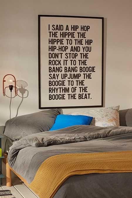 Honeymoon Hotel Rapper's Delight Art Print