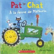 Accompagnez Pat le chat à la ferme en chantant l'interprétation amusante du classique pour enfants « Dans la ferme de Mathurin ». Les enfants adoreront chanter hiya hiya ho! avec Pat le chat.
