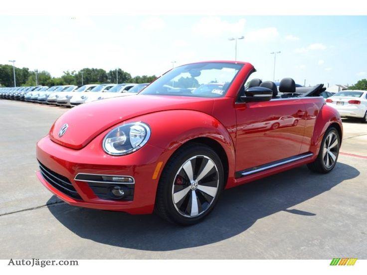 2014 red vw beetle 2013 beetle turbo convertible tornado red black red photo 1. Black Bedroom Furniture Sets. Home Design Ideas