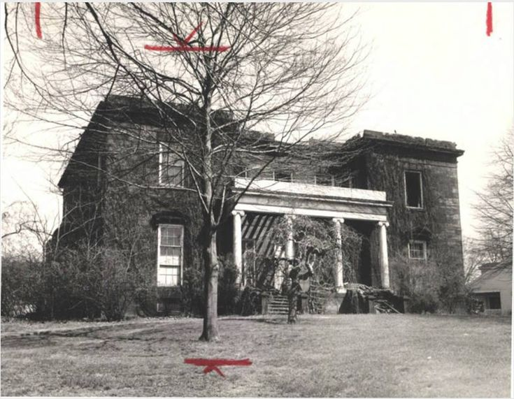 Old newberry mansion cuyahoga falls 1956 photograph of for Falls motor city cuyahoga falls