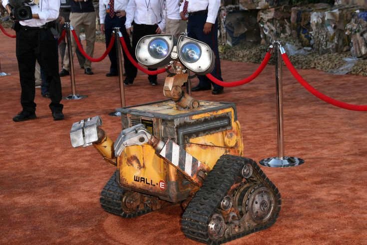 Wall-E--the friendly, clever rubbish-compactor--was named after Walter Elias Disney.