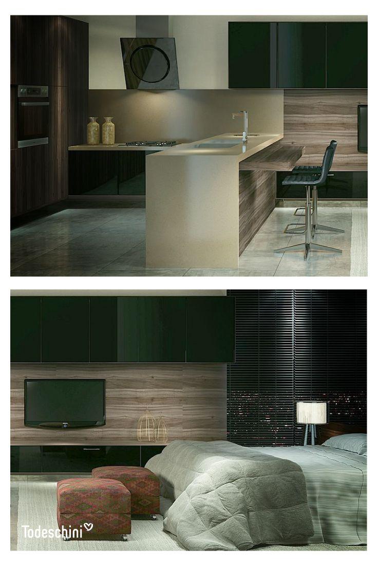 Diseñamos habitaciones para hoteles con espacios acogedores, cómodos e increíbles, para que cuando viajes recuerdes el calor del hogar. #Diseñodeinteriores #Decoración #Todeschini #ambientes #mueblesamedida #arquitectura #hoteles