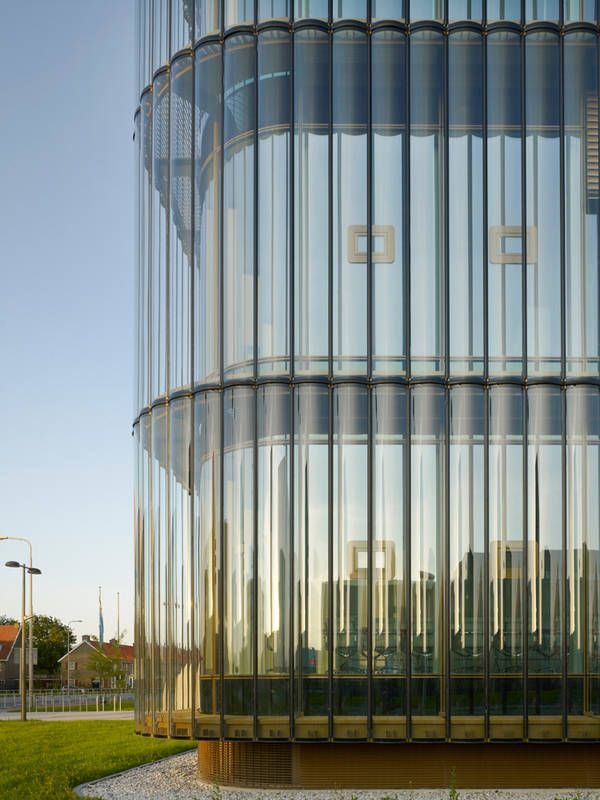 Zentrale Bußgeldbehörde Leeuwarden, Felix Claus Dick van Wageningen Architecten