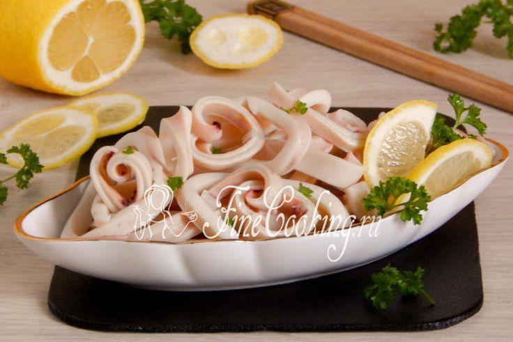 Маринованные кальмары