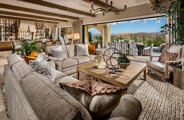 Villages Of Irvine Capri Residence 4 Luxury Apartments Modern Farmhouse Interiors Luxury Living Room Design