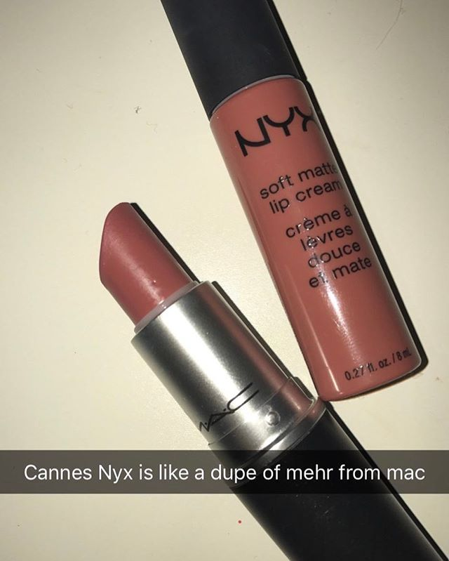@ makeupmusthavesssss - #dupe #nyx #cannes #mac #mehr