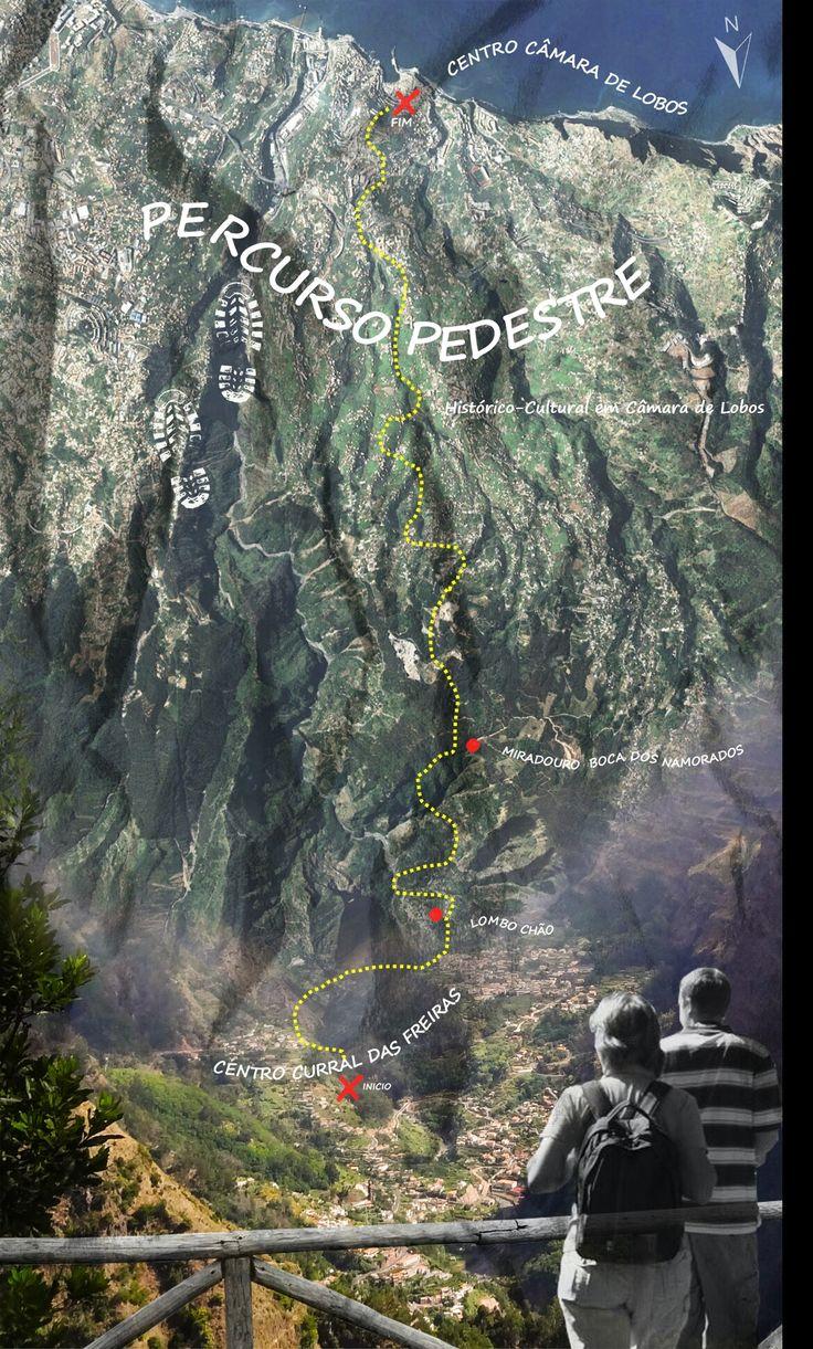 FLYER percurso pedestre - Ilha Madeira Portugal 2016