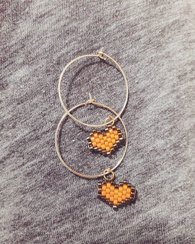 #miyuki#kupe#earrings#miyukibeads#miyukidelica#taki#tasarim#aksesuar#jewelry#instalike#instagood#instamoda#kalp#heart#moda#trend#fashion#stil#etsy#instagram#istanbul#handmadejewelry#handmade#elyapimi
