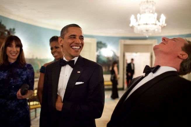 Behind the scenes of the lavish White House welcome for David and Samantha - Photo 2