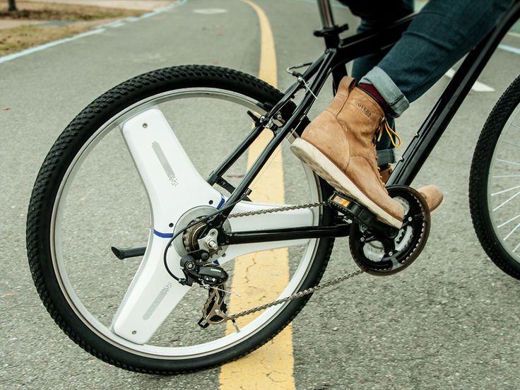 Centinel Wheel est une roue pour vélo qui vous permet de le transformer en vélo électrique simplement et pour pas cher
