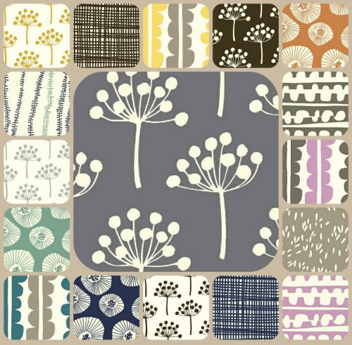 Lotta Jansdotter's fresh modern Echo Collection on Contemporary Cloth