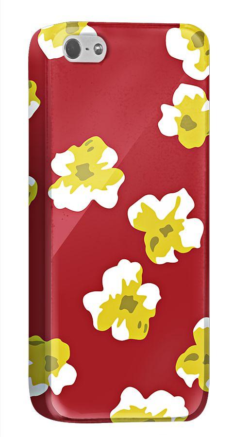 赤地に白い花とコントラストの効いたiPhone5/5sケース。渋目の赤が白い花をひきたてます。オリジナルのアレンジもカンタンにできます。  http://originalprint.jp/ls/215257/ddea02364f8009feb08133c414d3e2cda548120d