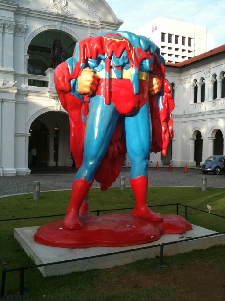 Melting Superman