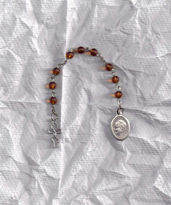 Clearance Bl Pope John Paul Chaplet by jennyreb26thnc on Etsy, $8.50