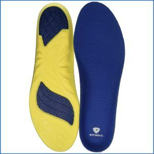 7. Sof Sole Athlete Full-Length Comfort Neutral Arch Replacement Shoe Insole/Insert