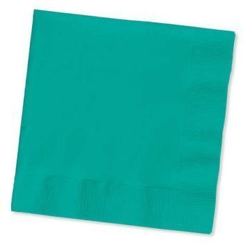 Tropical Teal 3-Ply Dinner Napkins 25 Per Pack by Creative Converting. $3.89. Design is stylish and innovative. Satisfaction Ensured.. Manufactured to the Highest Quality Available.. Creative Converting is a leading manufacturer and distributor of disposable tableware including high-fashion paper napkins plates cups and tablecovers in a variety of solid colors and designs appropriate for virtually any event