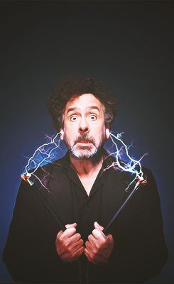 Tim Burton - His early film career was fueled by almost unbelievable good luck, but it's his talent and originality that have kept him at the top of the Hollywood tree. Tim Burton began drawing at an early age, going on to attend the California Institute of the Arts, studying animation after being awarded a fellowship from Disney, for whom he went on to work. He worked the mainstream Disney films and later would work on a series of creative break through movies.