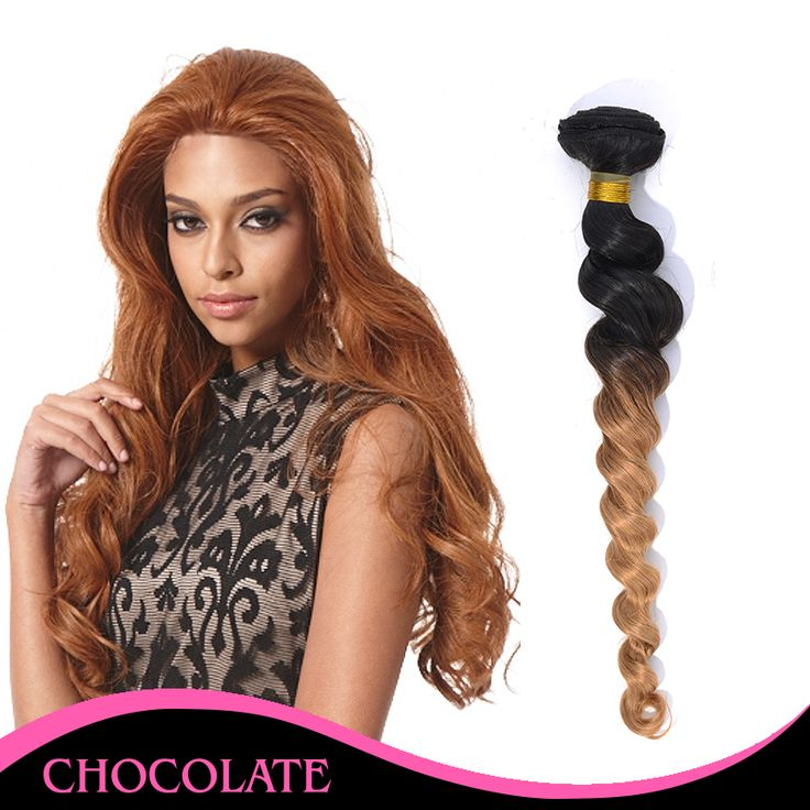 Find More Hair Weaves Information about 2015 New 3pcs/lot  Top Grade 100% Human Hair Curly Natural Black and Blonde Ombre Brazilian Remy Hair Extensions with Loose Wave,High Quality hair bunnies,China hair accessories for baby girls Suppliers, Cheap hair extension from Xuchang Yumei Hair Products Co.,Ltd on Aliexpress.com
