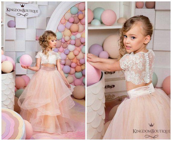 Caroline's Custom made flower girl dress. by KingdomBoutiqueUA