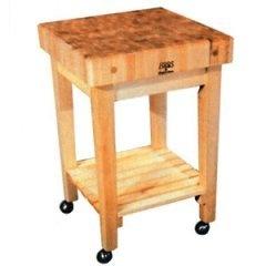 Butcher Block Carts - John Boos Butcher Block Kitchen Carts | Kitchensource.com #kitchensourc #pinterest #followerfind