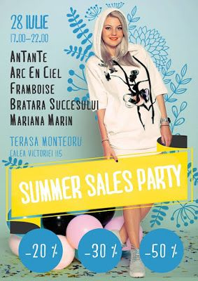 Bratara Succesului: SUMMER SALES PARTY, 28 Iulie, 17:00-22:00, Terasa ...
