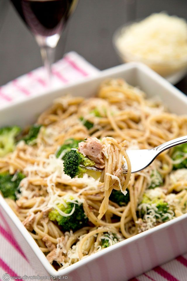pasta with tuna and broccoli