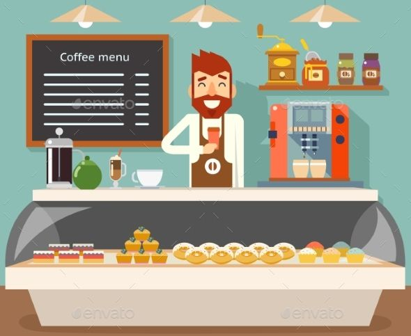 Coffee Shop Bakery With Images Coffee Shops Interior Coffee