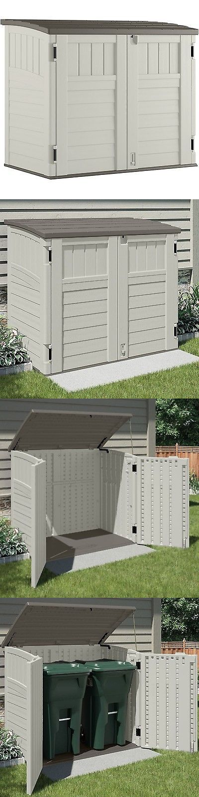 Garden and Storage Sheds 139956: Suncast Horizontal Utility Shed -> BUY IT NOW ONLY: $386.07 on eBay!