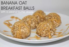 BANANA OAT BREAKFAST BALLS: quick and easy breakfast that the kids like!