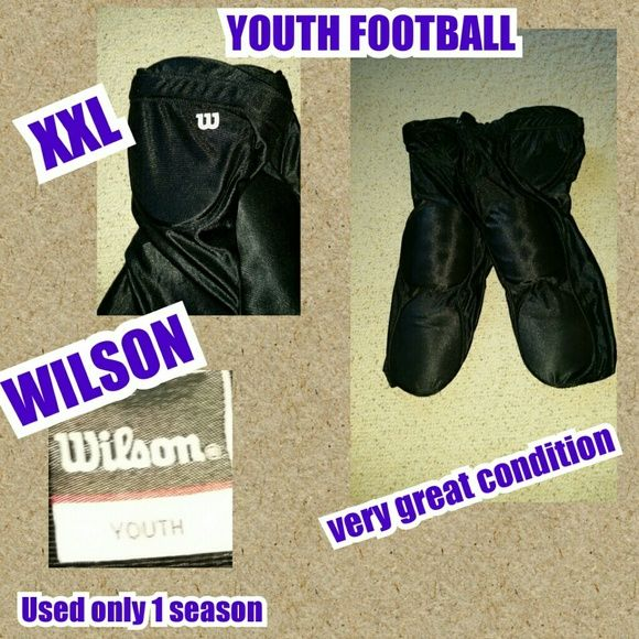 Practice football pants Very great condition still could get more life out of them, could be used for a child starting football, youth size XX-LARGE Wilson  Jackets & Coats