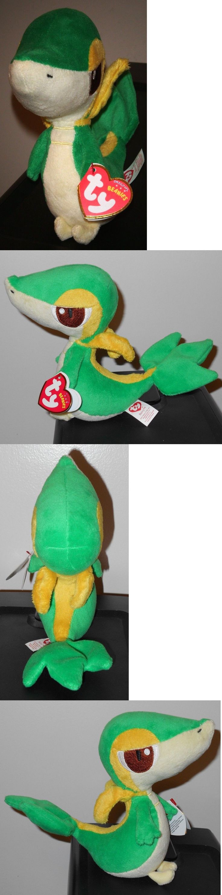 Current 438: Ty Snivy Pokemon Beanie Baby - Mint With Mint Tags - Uk Exclusive 6 Inch ~ Vhtf -> BUY IT NOW ONLY: $79.95 on eBay!