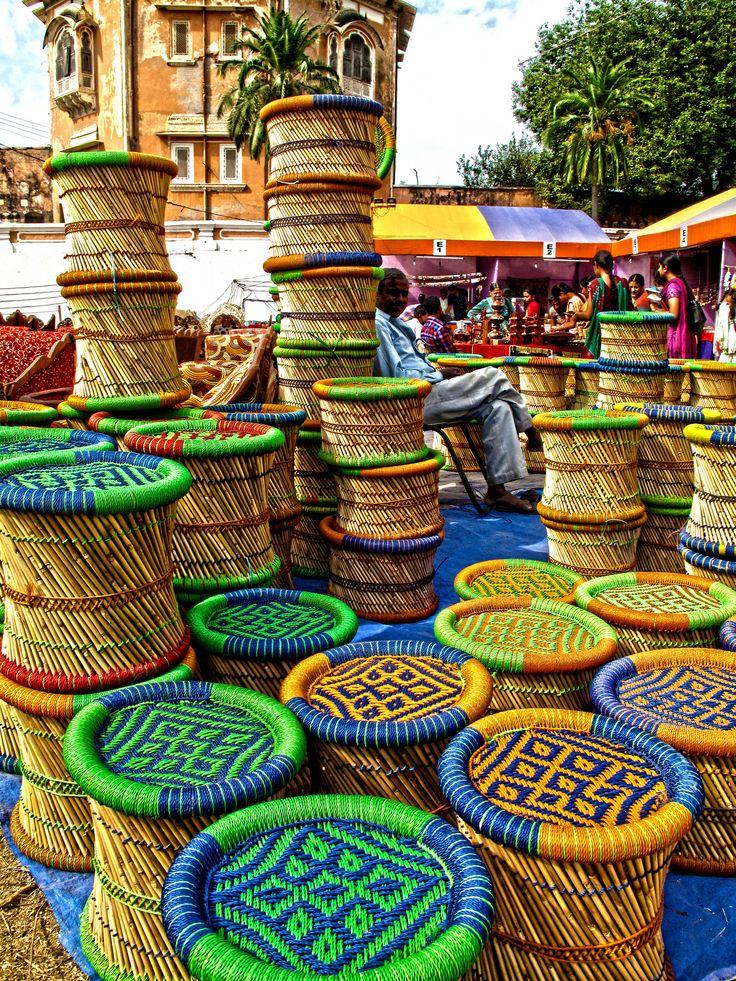 Bamboo stools for sale | Patiala, Punjab, India | Punjab, India