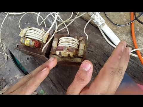 Maquina de soldar con electrodo casera/ homemade welding machine/ Maquina de Solda Caseira - YouTube
