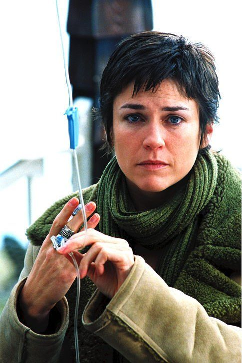 "Marie-Josée Croze in ""Les invasions barbares"" (2003)"