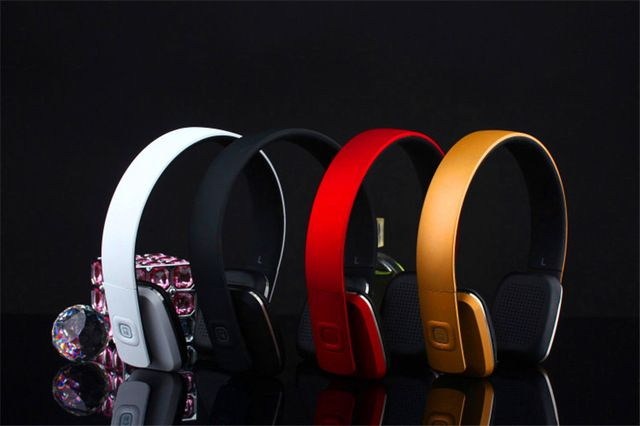 2016 Newest Bluetooth Stereo Super Bass Headphones Bluetooth 4.0 High Fidelity Wireless Over-Ear Headset for Smart Phone