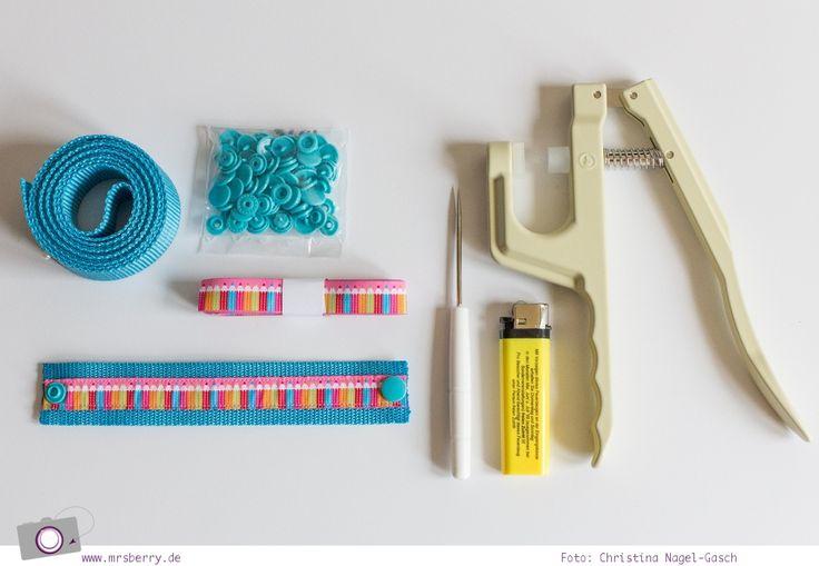 DIY: Armband für Kinder nähen