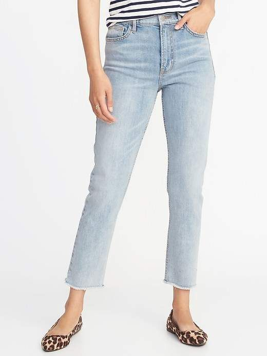 0f8a9ab2b4fb7 Old Navy High-Rise The Power Jean, a.k.a. The Perfect Straight for Women