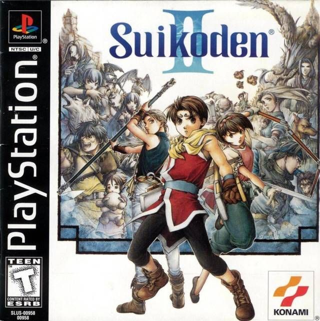 """Suikoden II"" > 1999 > Playstation (PS1) > Konami of America, Inc. > Role-Playing Game (RPG) / Third-Person (Turn Based) 2D RPG"