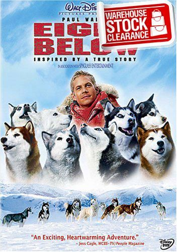 #bestdeal Walt Disney Pictures presents #EIGHT BELOW, the thrilling tale of incredible friendship between eight amazing sled dogs and their guide Jerry (Paul Wal...